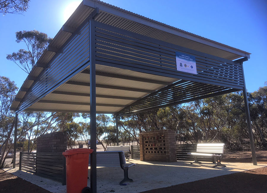 Shire of Kulin Cemetery Custom Gazebo Project